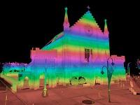 mapowanie terenu z użyciem skanera 3d